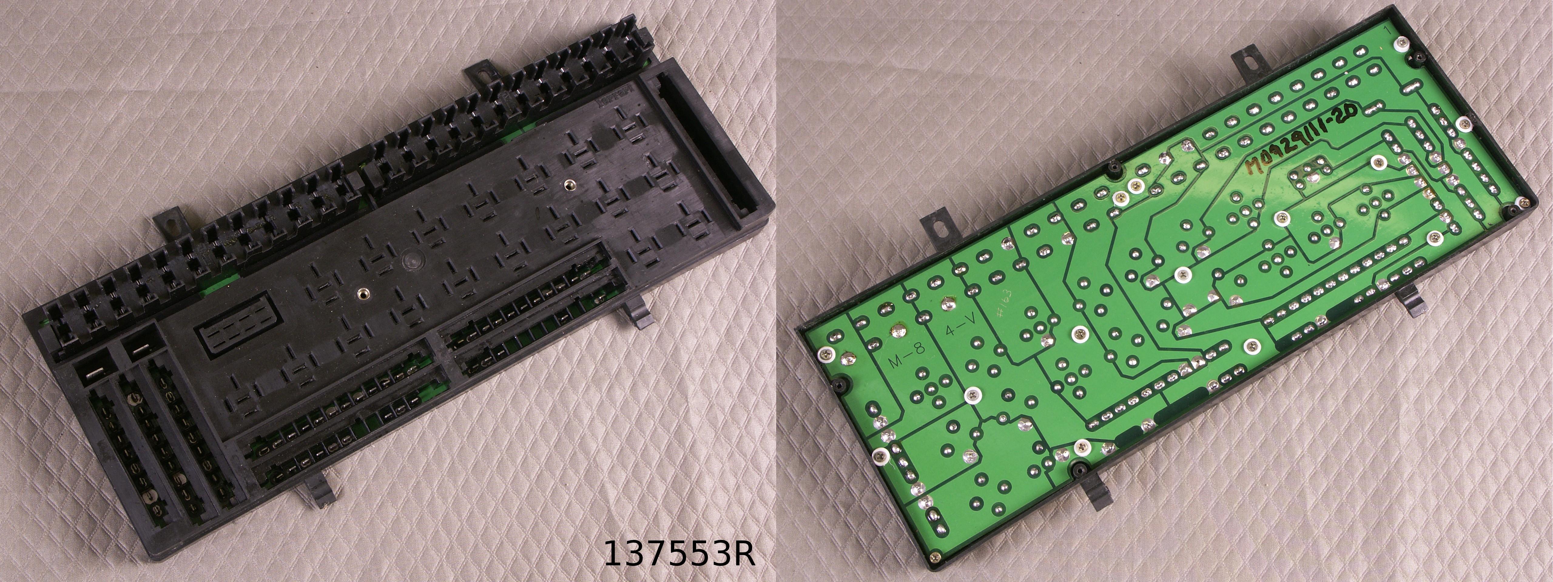 328 mondial remanufactured fuse box g t car parts inc. Black Bedroom Furniture Sets. Home Design Ideas