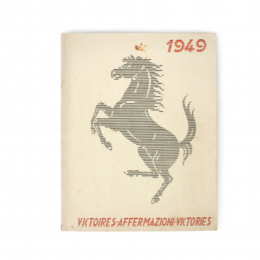FOR SALE: 1949 Ferrari Yearbook
