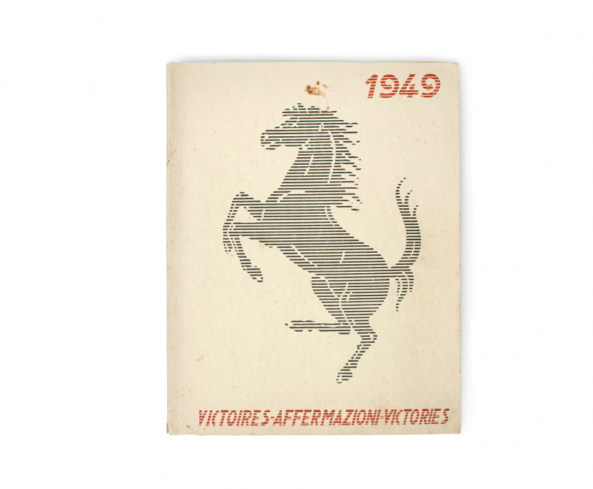 1949 Ferrari Yearbook Front Cover