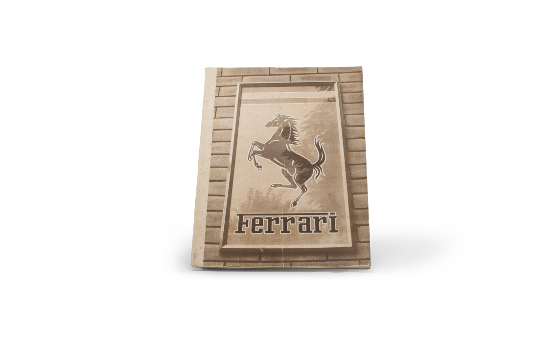 Front Cover of 1951 Ferrari Yearbook