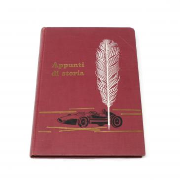 """FOR SALE: """"Appunti di Storia"""", Rare Scuderia Ferrari history book by Carlo Mariani"""